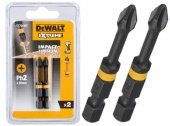 Бита ударная IMPACT TORSION EXTREME PH2 (уп.2 шт) DeWALT DT70532T